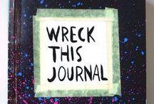 WRECK THIS JOURNAL - Destrua esse Diário
