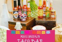 Tornaboda !!! ( Late night taco ) mexican style food track ideas for your wedding in Mexico. / Late night taco station , when wedding party never ends and your guests needs food recharge , this is a good idea