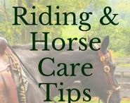 Riding and Horse Care Tips