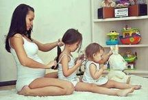 parenting / of all the rights of women, the greatest is to be a mother