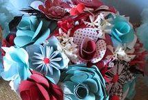 Paper Flower Tutorials/Pics