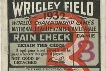 Wrigley Field / by Betty Kottkamp