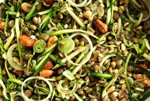 Brown Rice Salad with Crunchy Sprouts and Seeds / Toasted seeds and nuts add bite to this nutrition-packed salad. We use dried sprouted legumes, which are even more healthful than ordinary beans and more convenient than sprouting your own. (Cooked lentils and mung beans work well, too.) A vibrant chive vinaigrette brings it all together. For more visit http://bestlifeblueprint.bizblueprint.com/healthy-recipies/brown-rice-salad-with-crunchy-sprouts-and-seeds