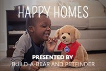 Happy Homes: Petfinder and Build-A-Bear / Curious how you can help pets find homes? This board will show you ways to directly help or get involved with finding homes for pets in need, as well as how to take care of your own pets. Brought to you by Petfinder and Build-A-Bear through the Promise Pets partnership.