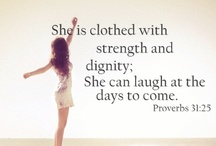 Strength Through Christ / by Elise Gabrielle