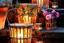 Romantic patio designs