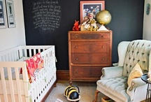 Nurseries / design and decor ideas for the nursery/master bedroom combo of Sarah Webb and baby / by Jess Eystad