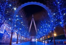 City Lights / Many cities around the country and the world have created beautiful light displays worth sharing. / by PartyLights.com