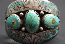 Turquoise Jewelry / Assorted jewelry made out of the interesting stone turquoise! / by Betty Kottkamp
