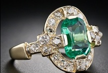 Emeralds / Gorgeous pieces of Emeralds in different sizes and styles. / by Betty Kottkamp