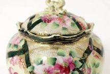 Biscuit Jars / Beautiful jars once used for biscuits and cookies / by Betty Kottkamp