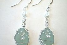 Seaglass Jewelry  / Love of the Sea inspired Jewelry / by Betty Kottkamp