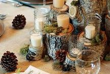 Thanksgiving Centerpieces / Thanksgiving Centerpieces & Tablescapes / by Melissa  | This Girl's Life Blog