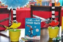 Dr. Seuss / Celebrate Dr. Seuss's birthday with these awesome easy Dr. Seuss crafts and easy Dr. Seuss snacks.