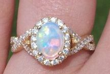 Opal Jewerly / All types and sizes of beautiful opal jewerly / by Betty Kottkamp