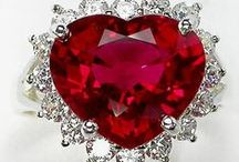 Rubies / Various shapes and sizes of rubies. / by Betty Kottkamp