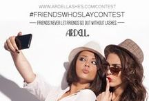 Ardell #FriendsWhoSlayContest / Do you have what it takes to SLAY? ENTER NOW: http://ardelllashes.com/Contest / by Ardell Lashes