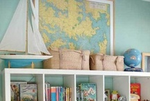 Rooms for Our Little Gifts from God / Great kids' bedrooms and playrooms. / by Katherine Lipton