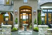 Curb Appeal - Beautiful Home Exteriors / by Katherine Lipton