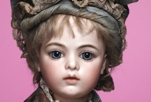 antique bisque dolls / doll made in the 1800's in france and germany / by Becky Martinez