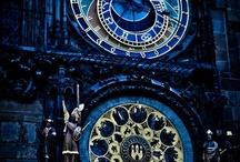 For Dad, Father Time / I grew up around clocks, lived in a house where many clocks ticked and now are silent. Clocks make me happy, and I have collected quite a few. / by Mary Box
