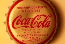 Things Go Better With  Coca Cola / Coca Cola advertising and merchandise / by Judith Bennett