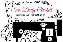 Sew Dolly Clackett / A sewing contest held in celebration of Roisin Muldoon's (aka Dolly Clackett's) wedding! #sewdollyclackett  Full contest details here:  http://rhinestonesandtelephones.blogspot.ca/2014/02/surprise-its-sew-dolly-clackett.html