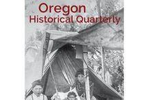 Oregon Historical Quarterly / The Oregon Historical Society advances critical inquiry through the Oregon Historical Quarterly, a journal that has sparked conversations throughout our community for over a century. All images link to issue table of contents, and some feature full text articles to read online!