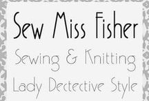 Sew Miss Fisher / Lady Detectives of the 1920's: Phryne Fisher, Daisy Dalrymple Fletcher, Mary Russell Holmes / by Sarah Randt
