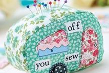 PINCUSHION TUTORIALS / This board is all about pincushions! Some tutorials, some free patterns, and some just too darn cute not to share! / by U CREATE