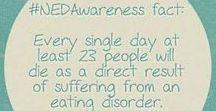 NEDAwareness / Eating disorder awareness -- facts, statistics, infographics, etc.