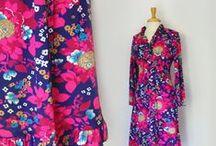 A Vintage Wardrobe / Vintage clothing I love.   / by Sarah Randt