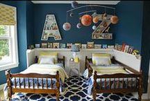 Nurseries & Kid Spaces / by Laura Kiernan {JourneyChic.com}