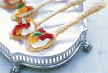 ~Hors D'oeuvres~ / Build an exquisite appetizer reception by starting with our selections {sip,chat, dine, & p{arty}.