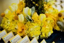 Dreamy yellow wedding