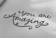 Typography / by MrsBee
