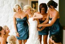 A blue wedding...