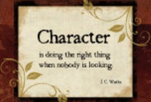 Character / by AussieHomeschool
