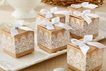 Wedding Favours / GIFTS | PACKAGING
