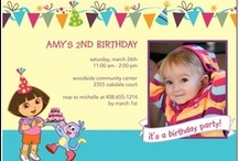 Dora Birthday Invitations