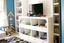 Playrooms / Playroom design | playroom decor | playroom decorating ideas | organized playroom