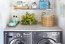 Laundry Rooms / Functional and beautiful laundry room inspiration. laundry room decorating | organized laundry rooms | laundry room decor