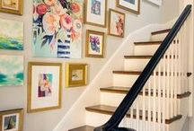Stairs & Hallways / Pretty and practical ideas for decorating stairs and hallways.