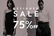 BARNEYS DESIGNER SALE / Our Designer Sale is here! Shop up to 60% off designer collections.  / by Barneys New York