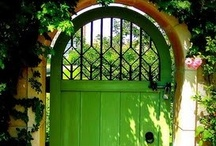 Doorways / Doors, gates, arches, entrances. / by Alphabet Salad Productions