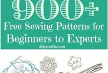 Sewing Patterns / Free patterns and making your own