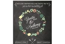Wedding and Special Occasion Invitations / Choose from a large selection of unique invitation styles with the latest trendy color combinations. All formal invitations come with return address printing on outer envelope.