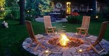 Outdoor cozy living