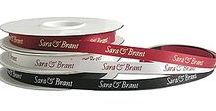 Favor Ribbon / Personalized favor ribbon for weddings, parties and corporate events.