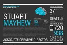  Creative Resume   /  RESUME YOUR RESUME  #CV #creative / by Basia Pe